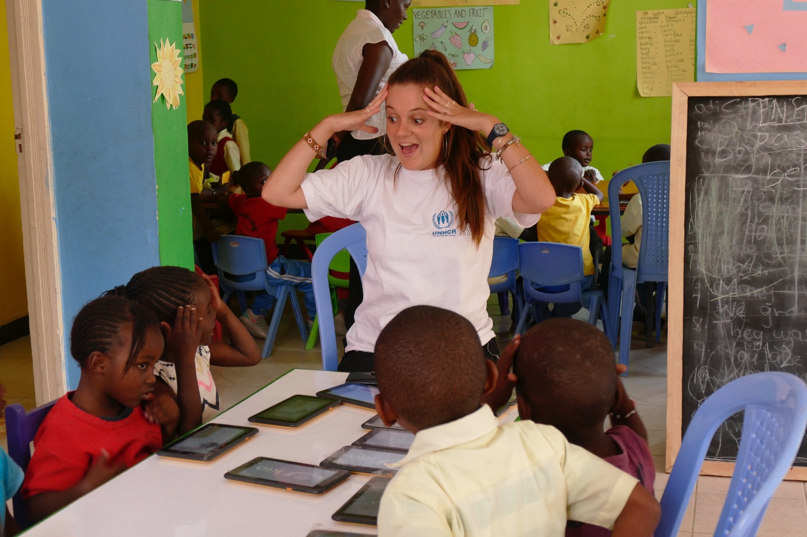 Xavier Project opens Amani Learning Centre in partnership with UNHCR