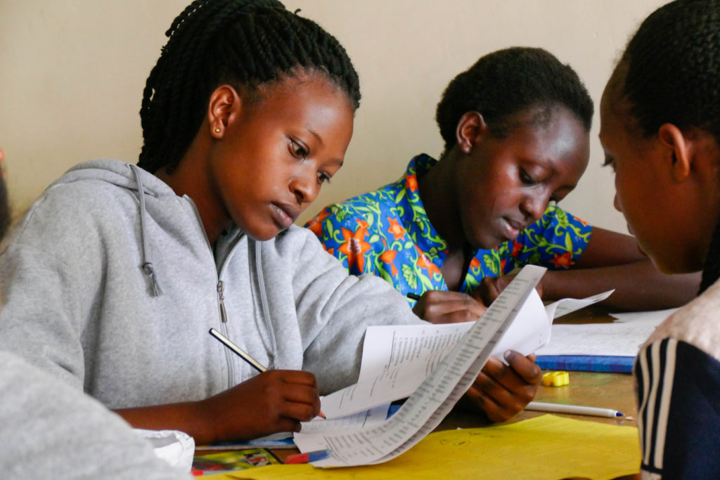 Providing access to education for over-age, out-of-school youth through AEP