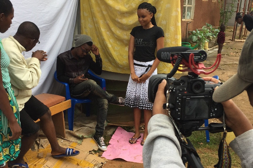 Kampala Students produce their own movie at school camps