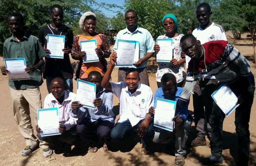 Over 500 teachers in Kakuma complete a one year Eneza digital refresher course