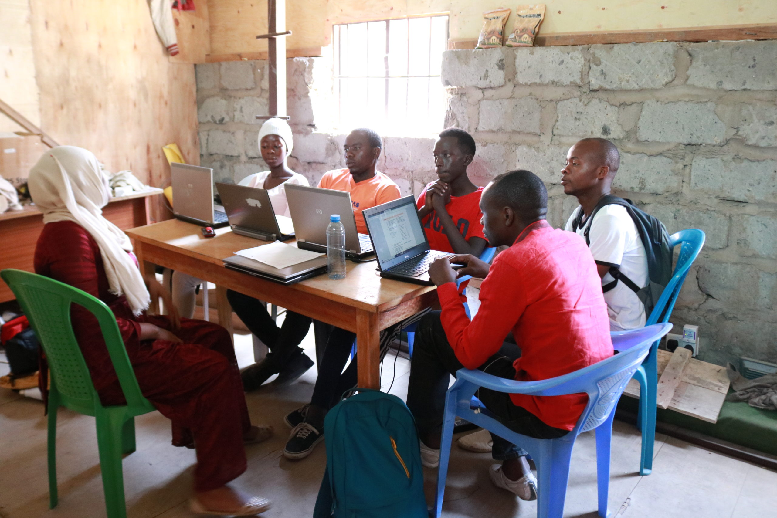 Support from GCSEPod is supporting refugee students taking on GCSEs in Kenya