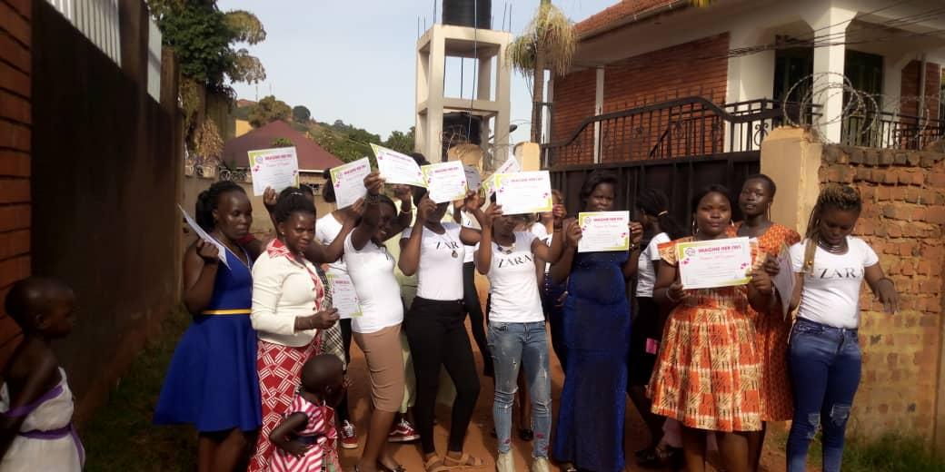 10 young women graduate from Business and Entrepreneurship course and launch businesses in Uganda