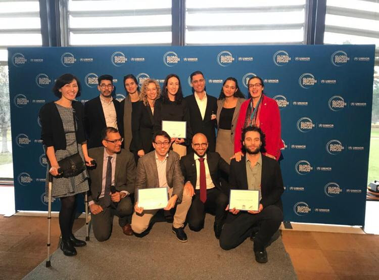 Xavier Project wins 2019 UNHCR Innovation NGO Award at Global Refugee Conference