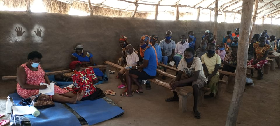 Community-led trainings in Imvepi to support children with Cerebral Palsy and Autism